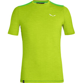 Salewa Pedroc Hybrid 2 Dry t-shirt Heren groen